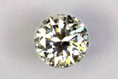 0.36 ct Brilliant cut diamond, E/SI2