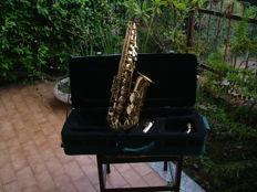 Barri alto saxophone, very old, may date back to 1970 or much earlier or later, very warm sound