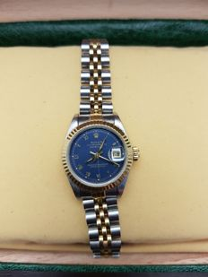 Rolex - Oyster Perpetual Datejust - 6917 - Ladies - 1980-1989 - Roman Dial