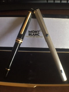 Montblanc Meisterstuck / Turbo fountain pens