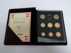 Austria - Yearsets Eurocoins 2003 (10 pieces)