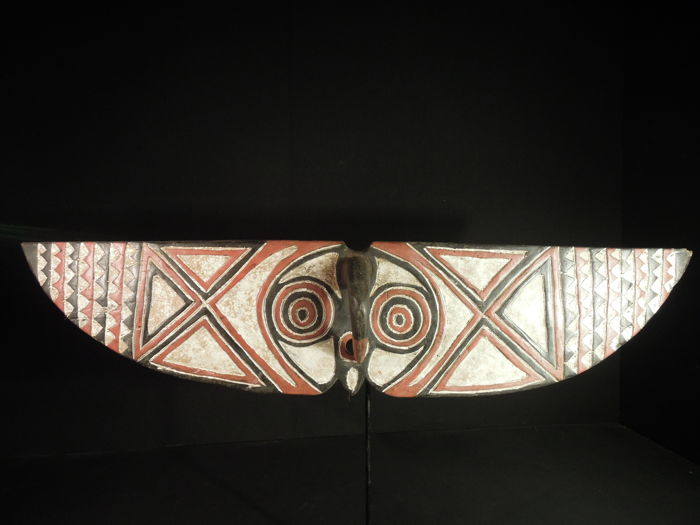 Large Butterfly Mask - BWA, MOSSI - Burkina Fasso