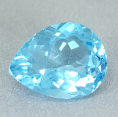 Sky Blue Topas – 18.16 ct No Reserve Price