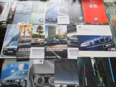 Automobile brochures (BMW, 1979-2004, 16x)
