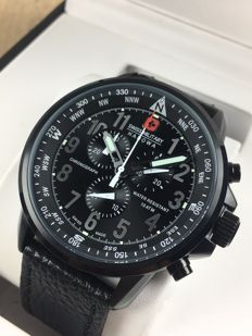 Swiss Military Hanowa Flightmaster chronograph – men's watch – reference: 14907X