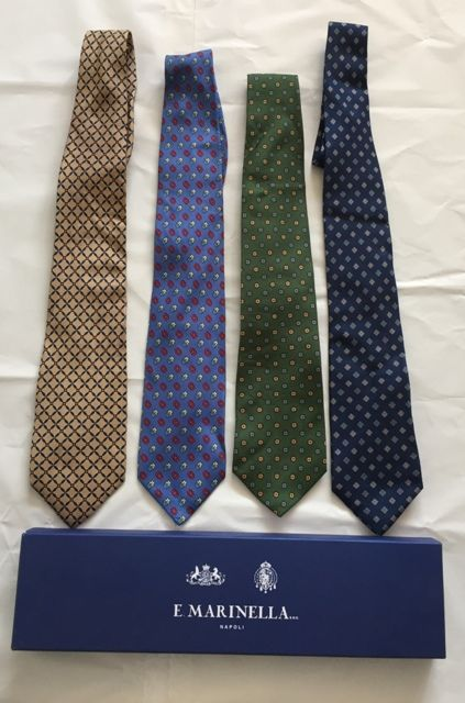 E.  Marinella Napoli - Lot of 4 ties