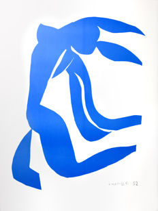 Henri Matisse (after)  - La Chevelure (The Flowing Hair)