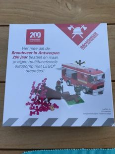 Lego Certified Professionals: 200 year fire department Antwerp - sold out