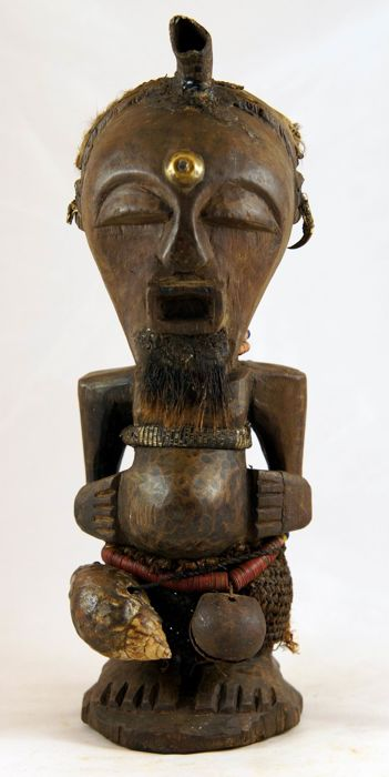 'Nkisi' Fetish/Power Figure - SONGYE - D.R. Congo