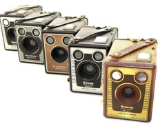 English Brownie box cameras
