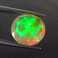 Faceted Opal - 2.30 Ct - No Reserve Price