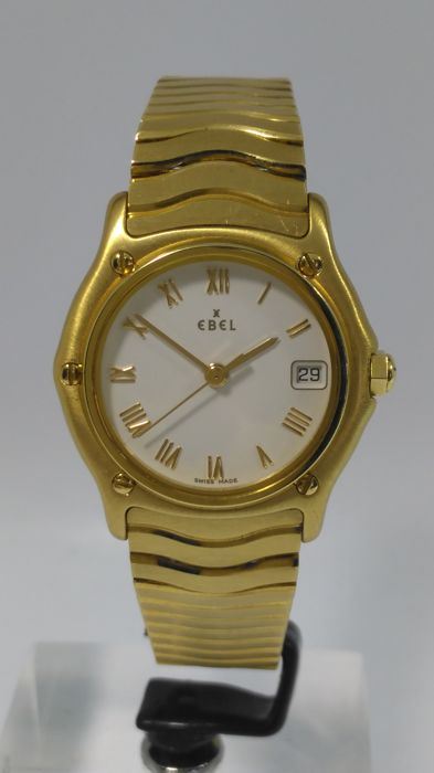 Ebel Classic Wave - 18 kt Gold - Women's Watch - Year: 1990-1999