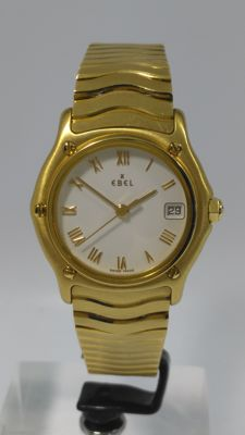 Ebel Classic Wave -- 18 kt Gold -- Women's Watch -- Year: 1990–1999