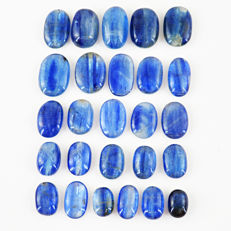 Blue Kyanite Cabochons lot - 210 ct  (26)