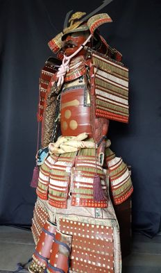 Original Japanese Samurai armour from the Showa period