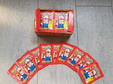 Pokemon stickers 96 packets with 6 stickers