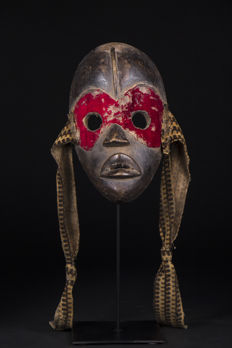 Mask of fire - DAN / YACOUBA - Ivory Coast