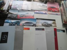 Car brochures (Mercedes-Benx, 20x, 1983-2015)