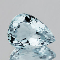 Light blue aquamarine, 3.26 ct.