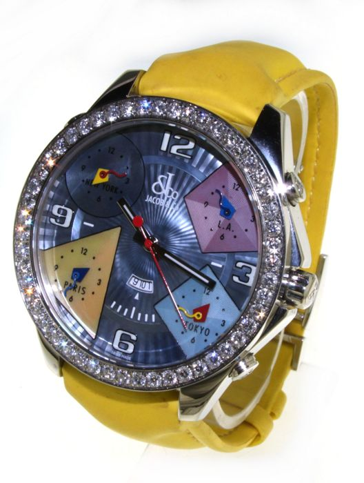 Jacob & Co five times zone - Wristwatch - (our internal #4412)