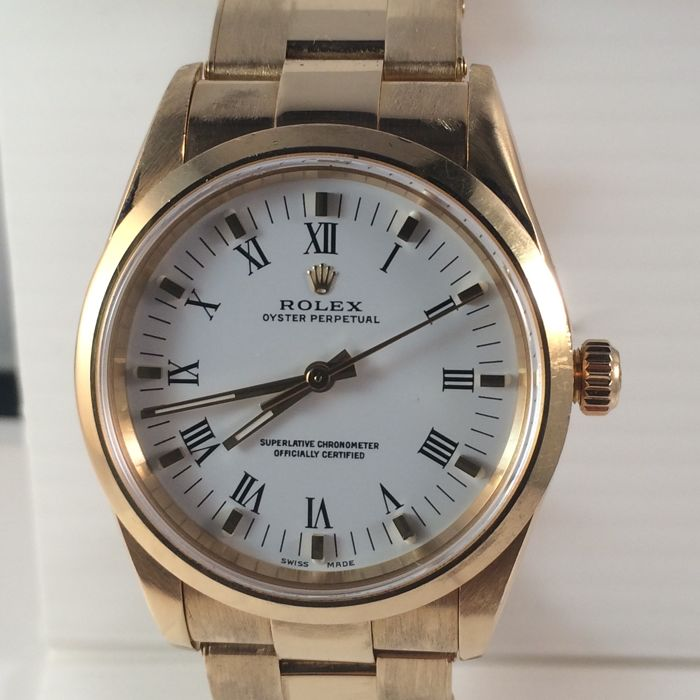 Rolex, oyster perpetual superlative chronometer, officially certified,  unisex, 2001, , Catawiki