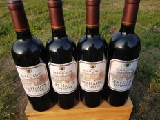 2011 Les Hauts du Tertre, second wine Chateau du Tertre - 4 bottles