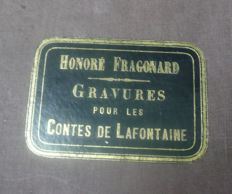 Honore Fragonard - Art portfolio with 57 erotic engravings