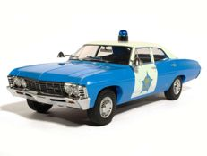 Greenlight - Scale 1/18 - Chevrolet Biscayne City of Chicago Police Department 1967