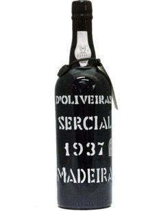 1937 Madeira Sercial D'Oliveiras - bottled in 2014