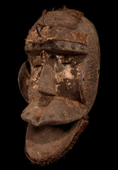 Fine tribal DAN Mask from the Ivory Coast