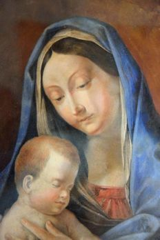 Unknown artist (19th century) - Madonna con Bambino