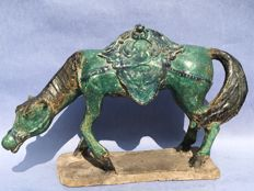 A Terra Cotta horse in Tang style – China – 1st half 20th century