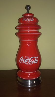 made in FACS for CELLI is the mark of a COCA COLA ornament