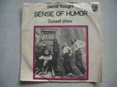 Sense of Humor, Side A: Secret thought, Side B Sunset show
