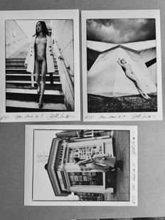 Photo; Belle Santos - Berlin City Nude: Set of 3 photos - 2017