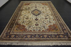 Oriental carpet Indo Tabriz  230 X 330 cm Made in India end of last century