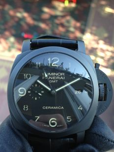 Officine Panerai - Luminor 1950 3 Days GMT Automatic - PAM441 - Men - 2013