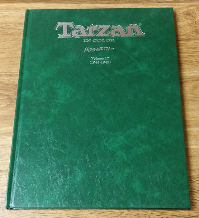 Tarzan in Color - Hogarth - Volume 17 - Flying Buttress Classics Library - Hardcover - (1996)