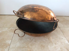 Vintage Portuguese Copper Cataplana