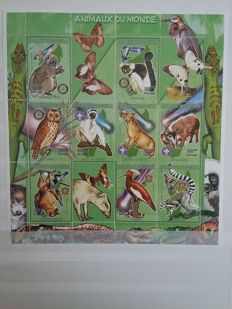 Animals 1960/2000 - theme collection in a thick stock book