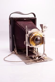 Huttig-Ideal early version 9 x 12 plate camera