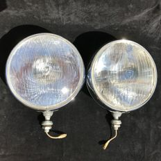 Rare Marchal 709 Starlux rally lights with original covers