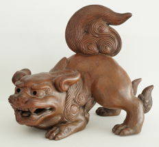 Shishi sculpture as an incense burner? - Japan - 19th/early 20th century (Meiji period)