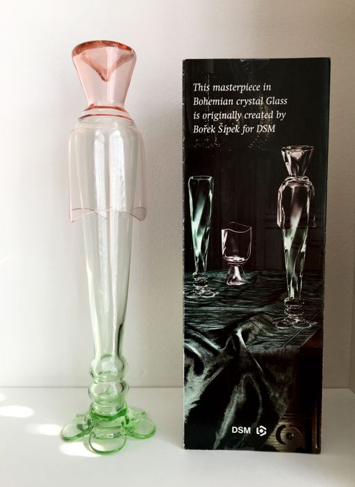 Borek Sipek - Two drinking glasses sculpture - A limited edition