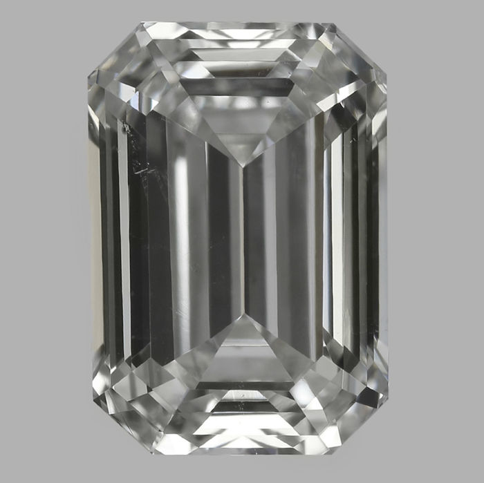 1.01ct IGI  Emerald Cut G VS2 -Original Image-10X - Serial# 2071