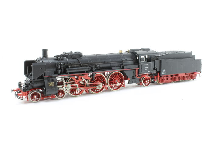 Liliput H0 - 4003 - Steam locomotive with tender BR 18 of the DB