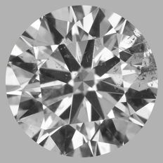 0.85ct Round Brilliant Diamond F SI2  IGI  Original image - SEALED - Serial# 2061
