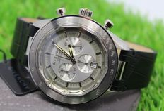 GIVENCHY – Eleven Stainless Steel - Swiss Made – Chronograph - Mens watch – New & Mint Condition