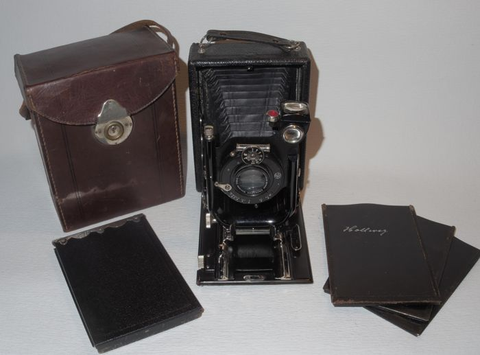 9x12 plate camera - brand unknown - circa 1915