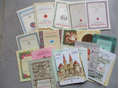 France 1953/1983 - selection of 29 Red Cross booklets, Yvert between 2002 and 2032